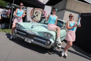 Cheesecake Promotion auf dem Musikbox- & Straßenkreuzer Festival in Kaunitz 26.05.2018