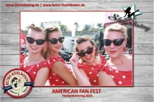 American Fan Fest im Rahmen der Nascar Whelen Euro Series am Hockenheimring