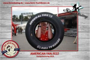 Showskating at American Fan Fest & Nascar Wheelen Euro Series at Hockenheimring 2019